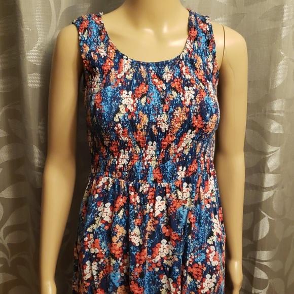 Elementz Dresses & Skirts - Elementz Petite Floral Sleeveless Maxi Dress